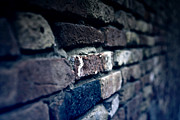 Brick Wall Framed Prints - Stone Wall Framed Print by Joana Kruse