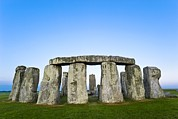 Christian Mythology Prints - Stonehenge Print by David Nunuk