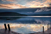 Finger Lakes Prints - Storm Clearing Print by Steven Ainsworth