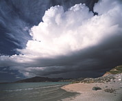 Isle Of Harris Posters - Storm Clouds Poster by Michael Marten