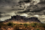 The Superstitions Photos - Stormy Morning  by Saija  Lehtonen