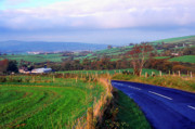 Emerald Isle Framed Prints - Strabane Plumbridge Road Framed Print by Thomas R Fletcher