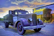 Jose Cuervo Posters - Stranahans Whiskey Delivery Truck Poster by Trish McGinity