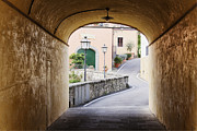 Greve In Chianti Photo Framed Prints - Street Scene Framed Print by Jeremy Woodhouse