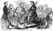 Music Stand Photos - String Quartet, 1846 by Granger