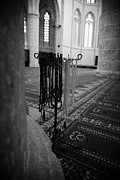 Pasha Photos - Subha Misbaha Tasbih Prayer Beads Hanging In The Lala Mustafa Pasha Mosque  by Joe Fox