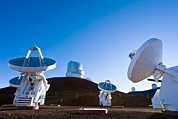 Mauna Kea Photos - Submilllimeter Array Telescopes, Hawaii by David Nunuk