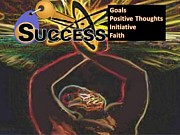 African-american Digital Art Prints - Success Print by Belinda Threeths