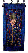 Agriculture Tapestries - Textiles - Sumerian wheat ear by Siran Ajel