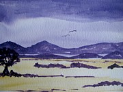 Raining Paintings - Summer Storm by Riana Van Staden
