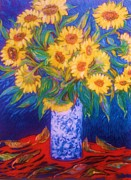 Gunter  Hortz - Sunflowers  3