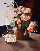 Oil Lamp Originals - Sunlit II by Jennifer  Donald