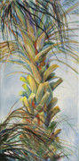 Fronds Paintings - Sunlit Palm by Michele Hollister - for Nancy Asbell
