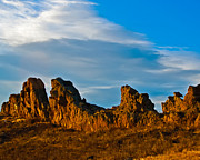 Northern Colorado Prints - Sunrise at Devils Backbone Print by Harry Strharsky