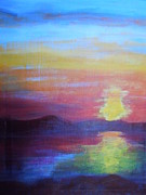 Lam Lam Prints - Sunrise Seascape Print by Lam Lam