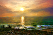 Dawn Serkin - Sunset at Torrey Pines...