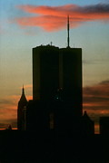 Wtc Center Framed Prints - Sunset Framed Print by Mark Gilman