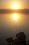 Featured Art - Sunset Over The Dead Sea by Taylor S. Kennedy