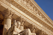 Court Of Law Prints - Supreme Court Print by Brian Jannsen