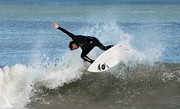 Kahuna Photos - Surfing 395 by Joyce StJames