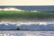 Surf Lifestyle Photos - Surfing During A December Swell by Rich Reid
