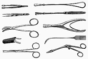 Scissors Posters - Surgical Instruments Poster by Granger