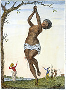 J.g Framed Prints - Surinam: Punishment, 1796 Framed Print by Granger