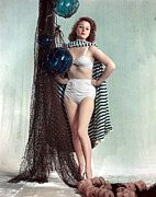 Two Piece Prints - Susan Hayward, 1940s Print by Everett