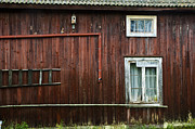Rundown Barn Framed Prints - Swedish House Framed Print by Micah May