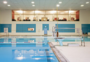 Recreational Pool Posters - Swimming Pool Poster by Andersen Ross