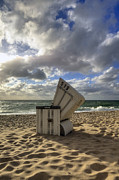 Beach Chair Photo Framed Prints - Sylt Framed Print by Joana Kruse