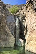 Canyons Paintings - Tahquitz Falls by Dominic Piperata