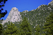Idyllwild Framed Prints - Tahquitz Rock Framed Print by Jay Hooker