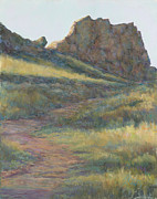 Colorado Pastels Prints - Take a Hike Print by Billie Colson