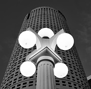 Monolith Framed Prints - Tampa architecture Framed Print by David Lee Thompson