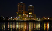 Tampa Skyline Photos - Tampa Bay History Center by David Lee Thompson