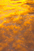 Heavens Art - Tangerine Sky by David Pyatt