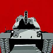 Army Tank Posters - Tank U Very Much Poster by Slade Roberts