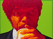 Pulp Fiction Paintings - Tasty Beverage by Ellen Patton