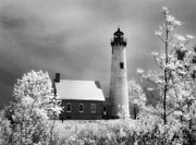 Jeff Holbrook Metal Prints - Tawas Point Lighthouse Metal Print by Jeff Holbrook