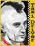 Robert De Niro Art - Taxi Driver by Jason Kasper