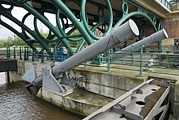 Tees Photos - Tees Barrage by Adrian Bicker