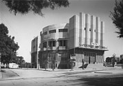1920s Candid Art - Tel Aviv, Moghrabi Theatre, Movie by Everett