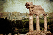 Columns Of Greece Framed Prints - Temple of Castor and Pollux Framed Print by RicardMN Photography