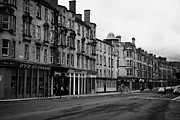 Glasgow City Centre Scotland Prints - Tenement Buildings And Shops On Saltmarket Glasgow Scotland Uk Print by Joe Fox