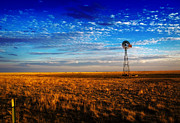 Fred Lassmann Prints - Texas Plains Windmill Print by Fred Lassmann