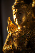 Backlit Photo Originals - Thai statue by James O Donnell