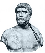 Thales Theorem Posters - Thales, Ancient Greek Philosopher Poster by Photo Researchers