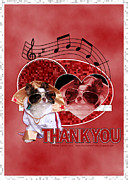 Dogs Digital Art - Thank You - Thank You Very Much by Renae Frankz