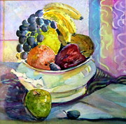 Nutrition Mixed Media - Thanksgiving by Mindy Newman